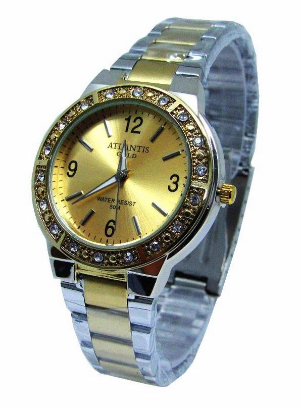 803f3b4e331 relógio feminino dourado barato promoção a prova d água. Carregando zoom.