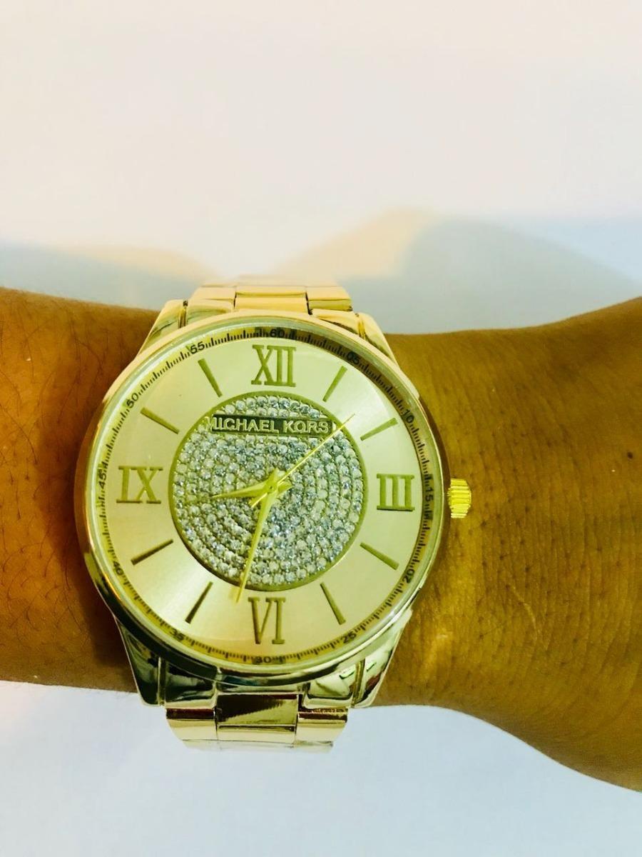 f5d30ce557e Relógio Feminino Dourado Bonito