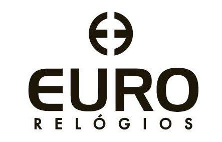 relogio feminino dourado euro strass original eu2036ylf/4d