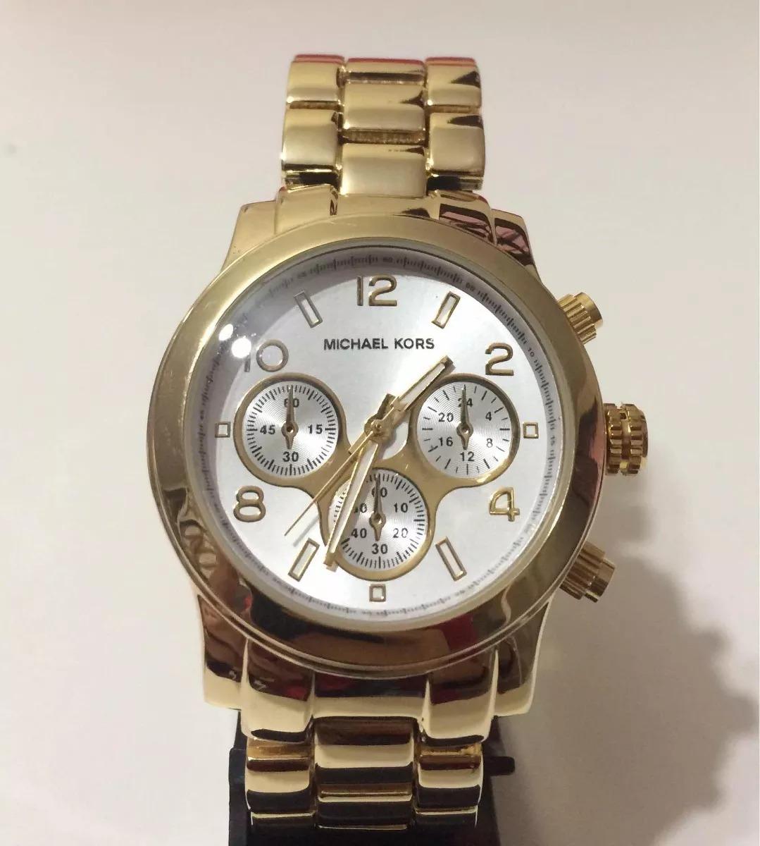 259b0101ecb relógio feminino dourado fundo prata + promoção kit semijoia. Carregando  zoom.