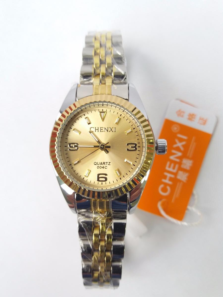 53cfea8a8f2 relógio feminino dourado prata chenxi original luxo barato. Carregando zoom.