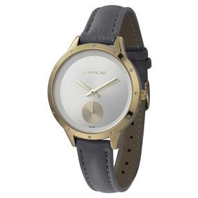 e6c3297ec Relogio Lince Pulseira De Couro Feminino - Joias e Relógios no ...