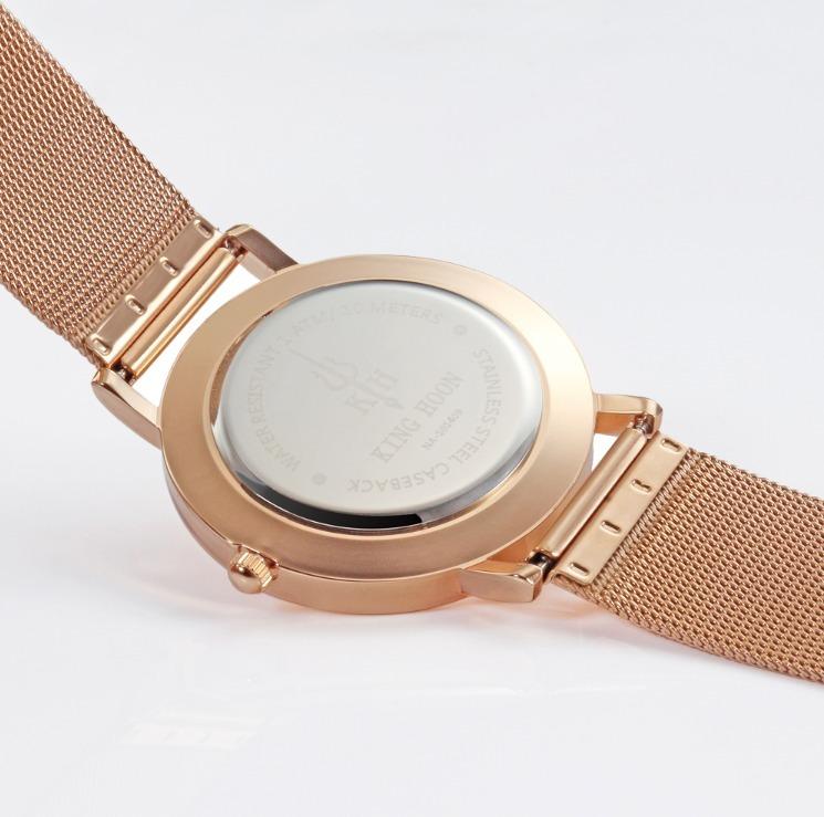 3fc8dab1833 Relógio Feminino Dourado Rose Original Importado Analogico - R  127 ...