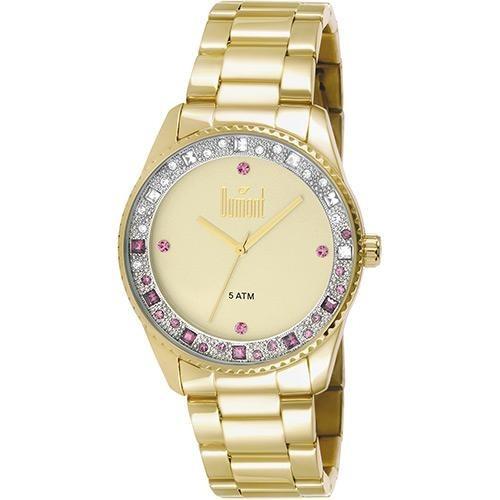 relógio feminino dumont