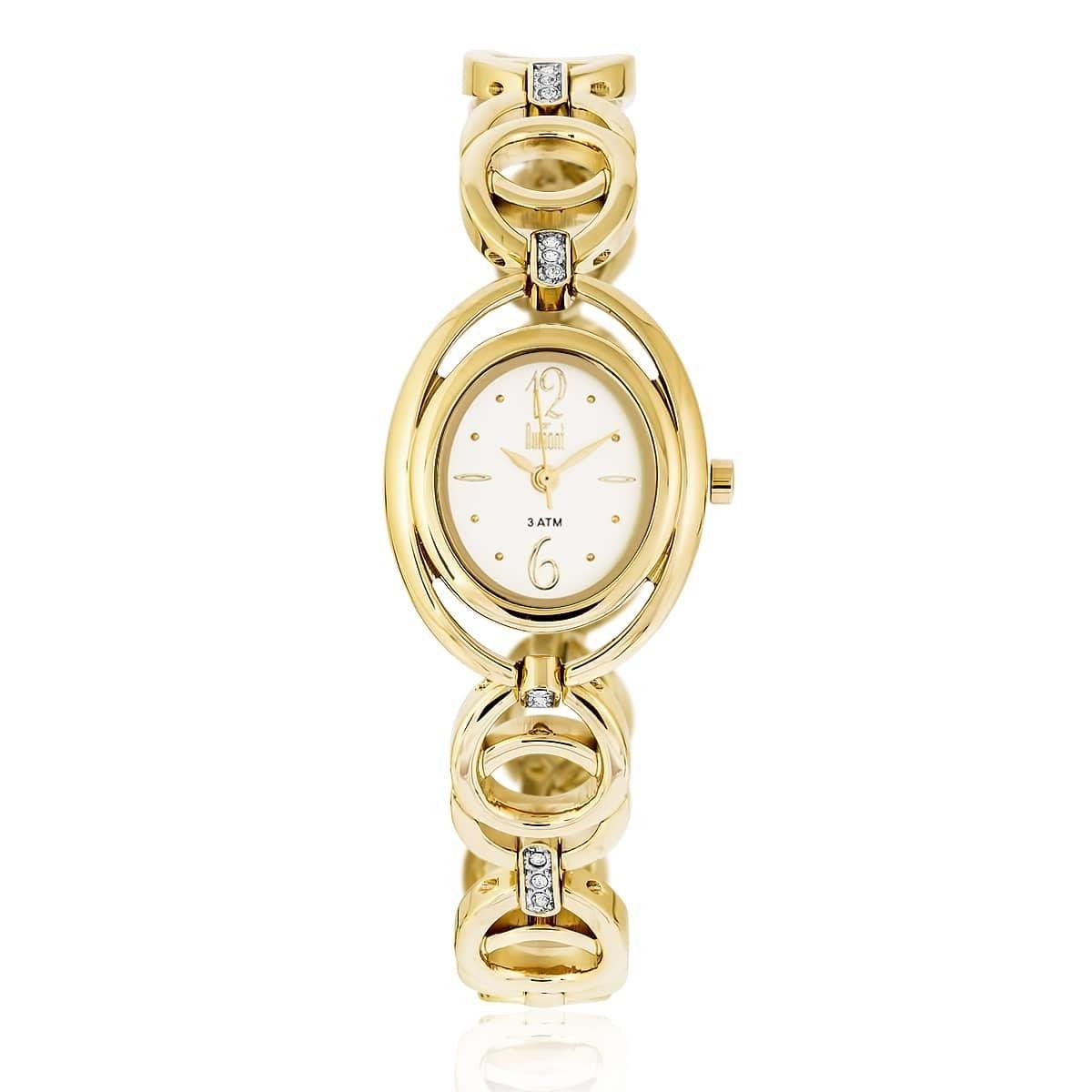 e1d9ea891b06a Relógio Feminino Dumont Splendore Ref. Du2035lqe 4k Dourado - R  250 ...
