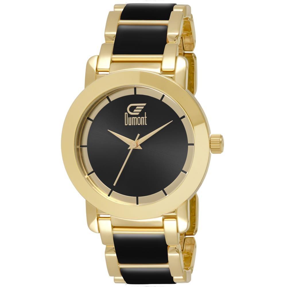 615a366acf36f Relógio Feminino Analógico Dumont Du2035lst 5p - Dourado - R  211,90 ...