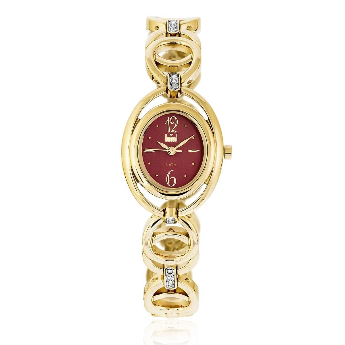 b6071e937758a Relógio Feminino Dumont Splendore Ref Du2035lqe 4n Dourado - R  199 ...