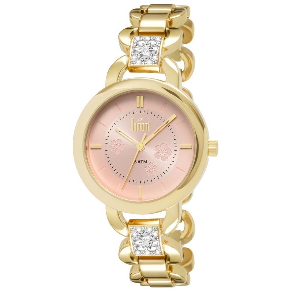 8627fdaa42a Relógio Feminino Analógico Dumont Fashion Du2035lqh 4t - R  207