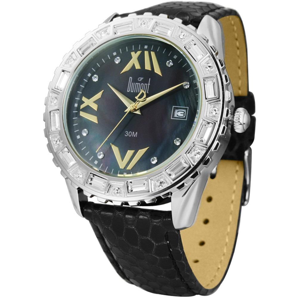 155aec5f8e2 Relógio Feminino Dumont Analógico Fashion Sc35508 p - R  169