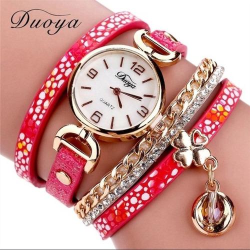 relógio feminino duoya