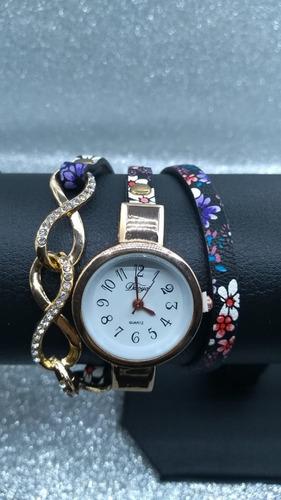 relógio feminino duoya quartzo