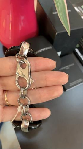 relogio feminino emporio armani original bracelete fino
