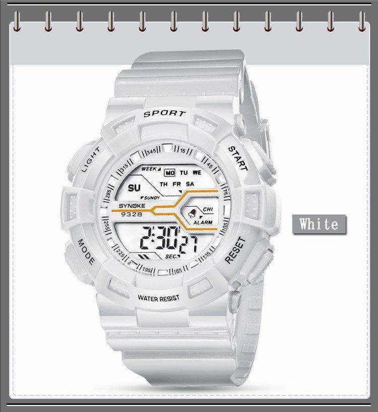 080f9637f7d relógio feminino esportivo digital synoke 9328 prova d água. Carregando zoom .