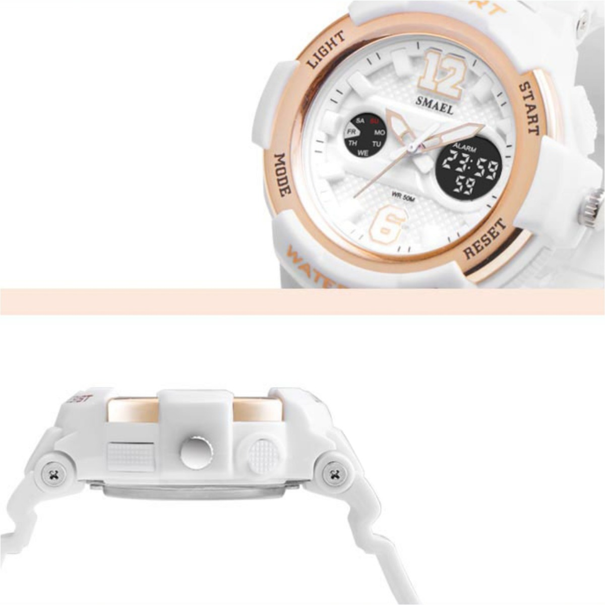 c3db6a6ba07 relógio feminino esportivo top 50 metros - menor preço. Carregando zoom.