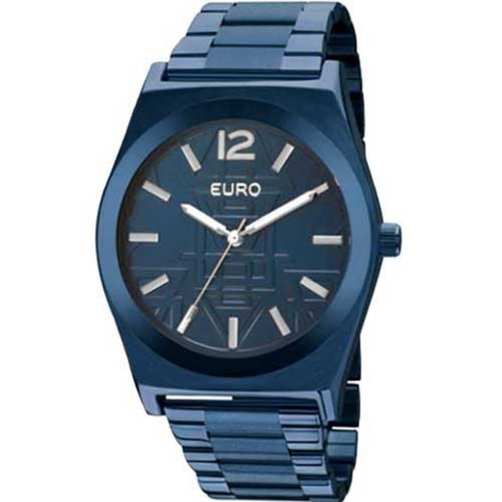 1d0e4fa1f7c Relógio Feminino Euro Tribal Analógico Azul Escuro - Eu2036j - R ...