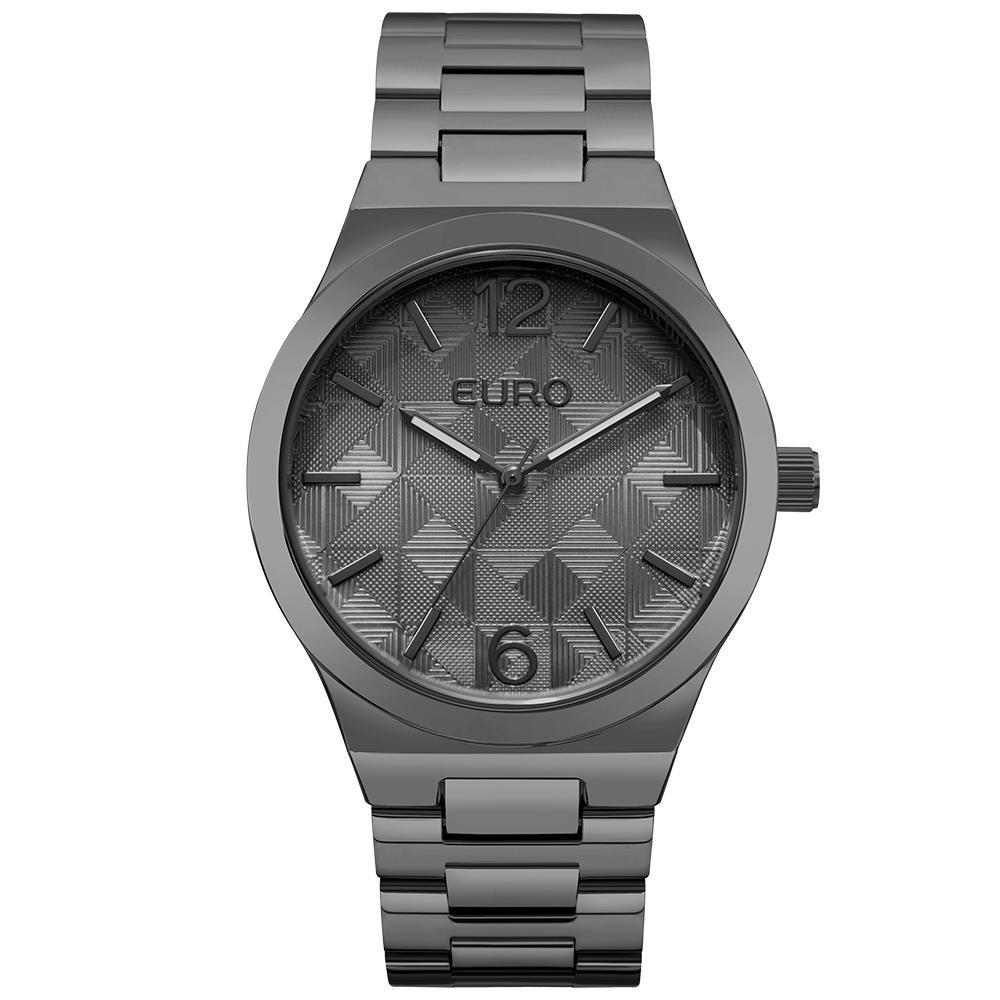 78490dfa149 Relógio Feminino Euro Eu2036ylm 4p 40mm Pulseira Fume - R  192
