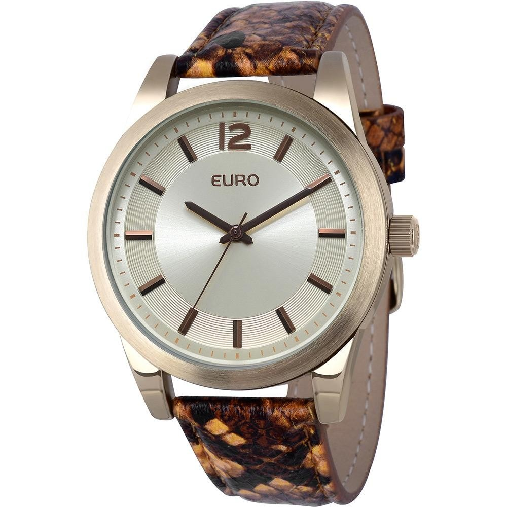 90e16edec6e relógio feminino euro analógico fashion eu2035lxx 2d. Carregando zoom.