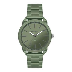 Relógio Feminino Euro Color Eu2035ysp/4v 40mm Aço Verde