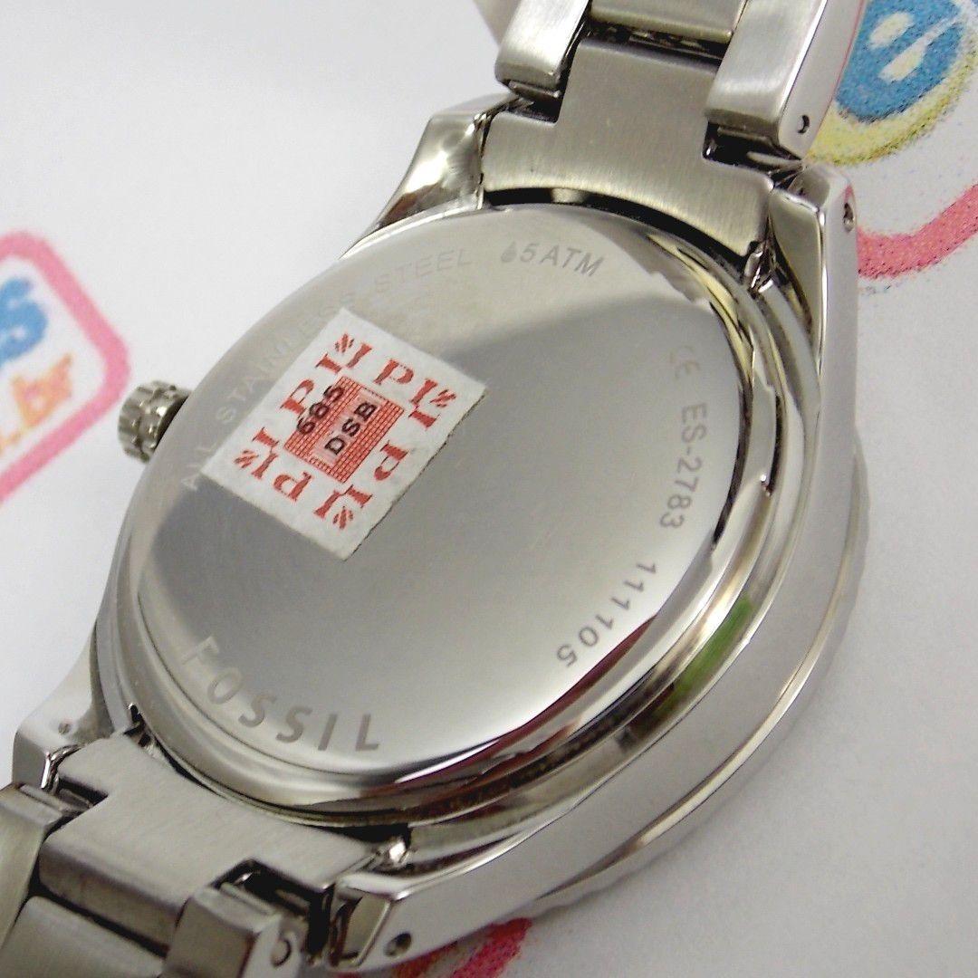 1826a33e136 relógio feminino fossil fes2783n aço mostrador madreperola. Carregando zoom.