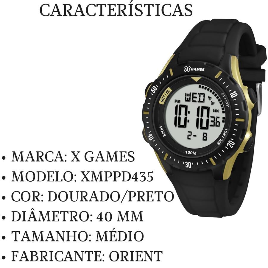 e08ef959318 relógio feminino preto dourado digital x games xmppd435. Carregando zoom... relógio  feminino games. Carregando zoom.