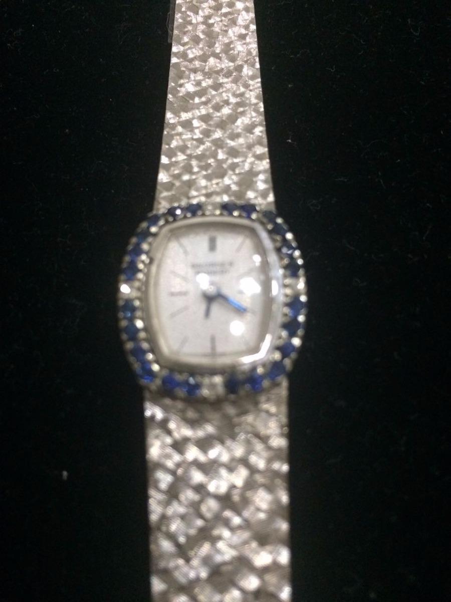 032e9c47bdc relógio feminino georges robert suíço em ouro branco com 24. Carregando  zoom.