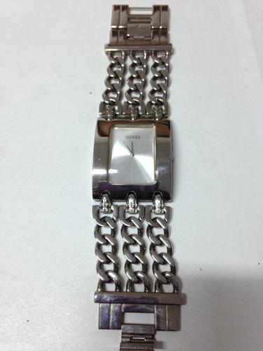 relógio feminino guess pulseira de corrente