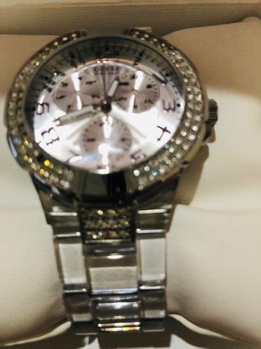 relógio  feminino  guess  quartzo u11656l1 original importado miami