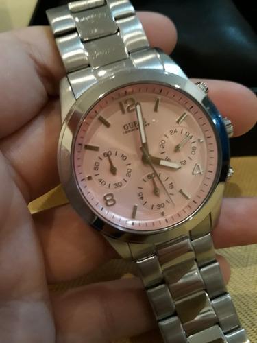 relógio feminino guess u12605l3 - importado com caixa
