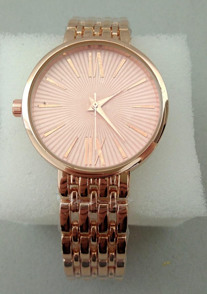 32e5339bc36 Relógio Feminino Importado De Ponteiro Dourado Rosa Promoção - R  39 ...