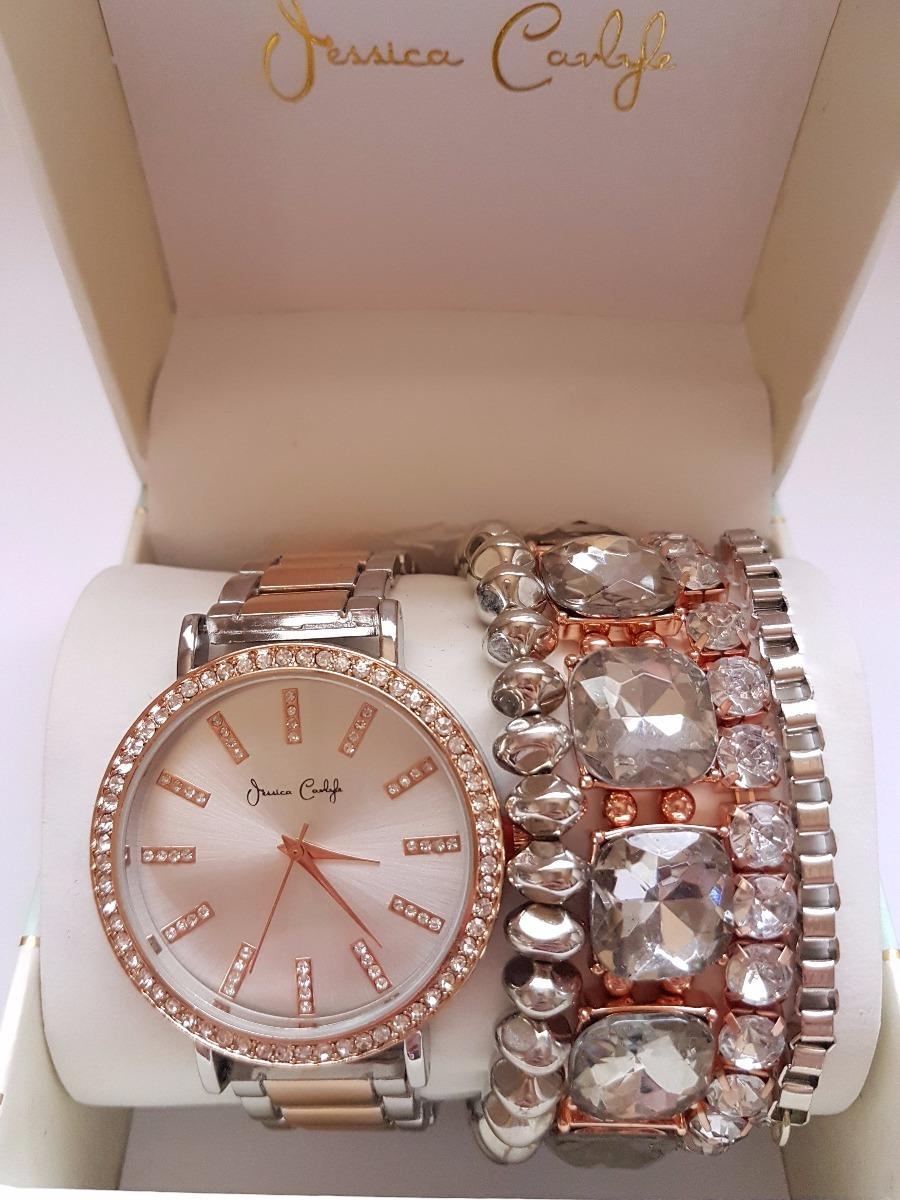 b489486e25c relógio feminino importado - jessica carlyle. Carregando zoom.
