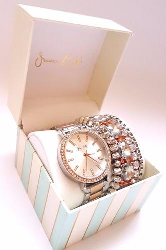 relógio feminino importado - jessica carlyle