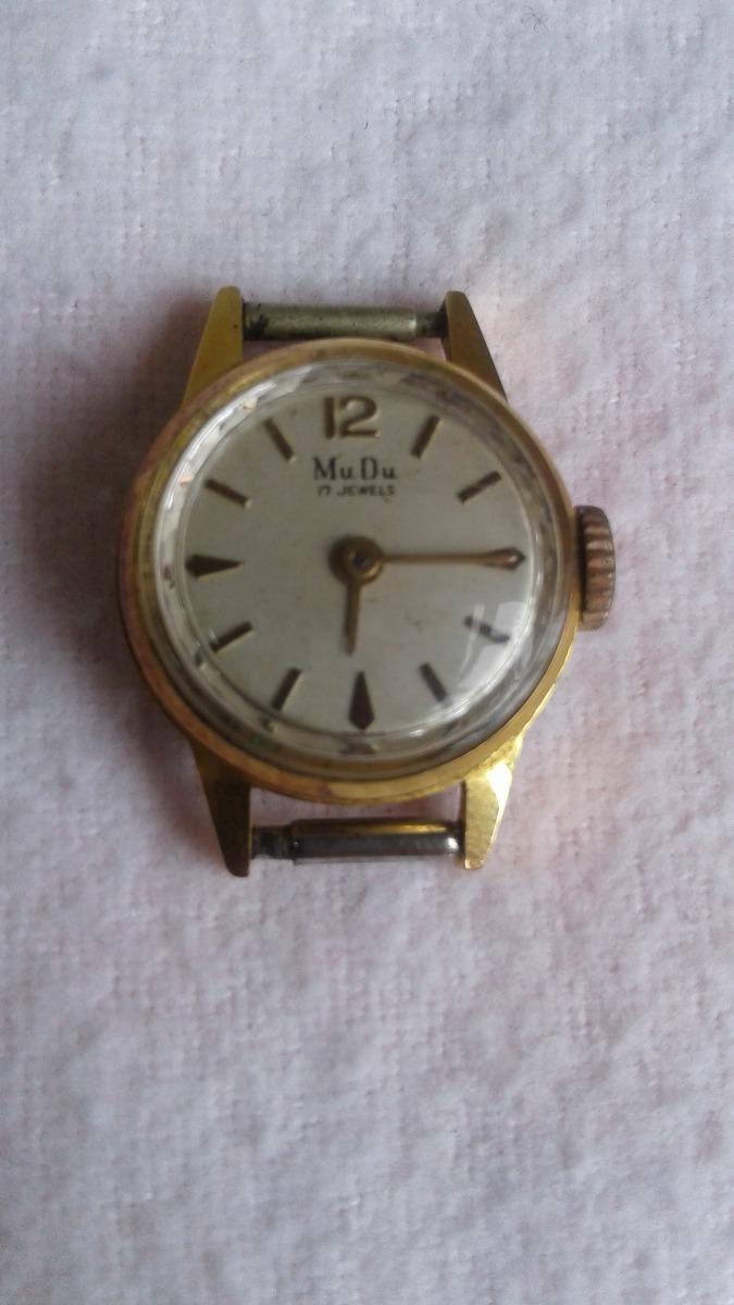 3bdefd6946e relógio feminino importado pulso antigo mudu suiço frete grá. Carregando  zoom.