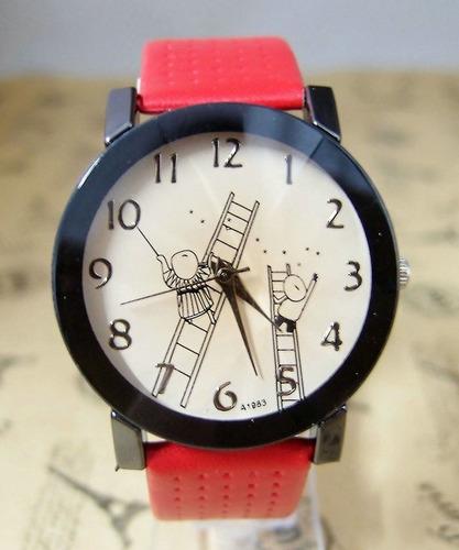 relógio feminino infantil estrelas quartzo promocao