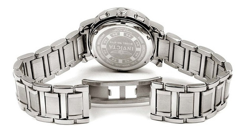 relogio feminino invicta original prata diamond novo luxo 16