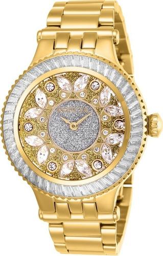 relógio feminino invicta subaqua 26155 cravejado
