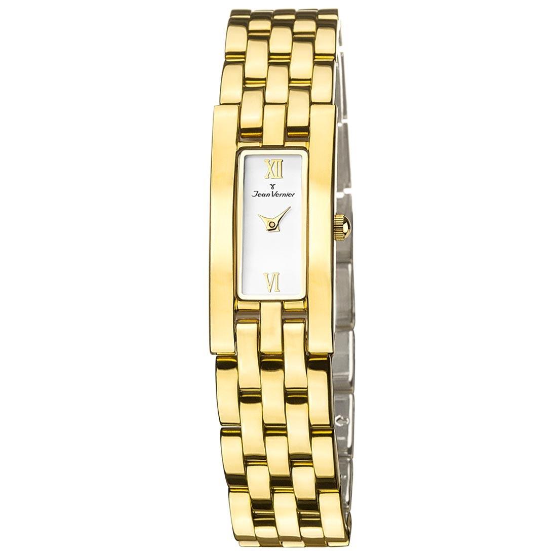 e13263af55c relógio feminino jean vernier pulseira de aço - jv5778. Carregando zoom.