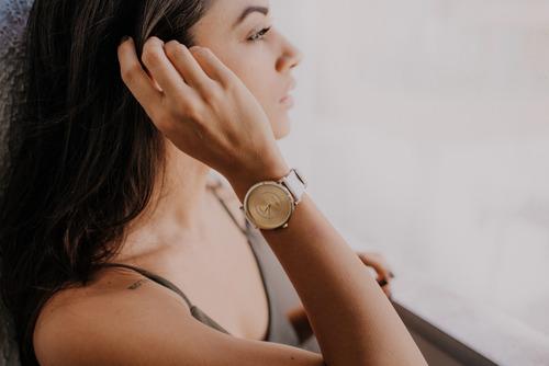 relógio feminino joias