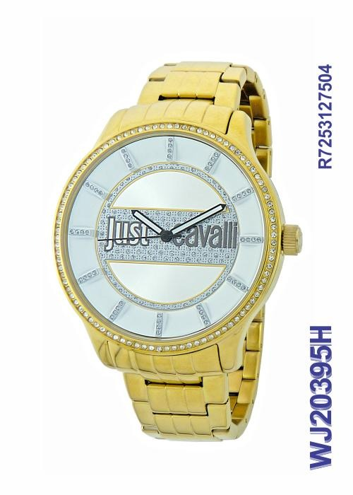 846ae12c9d9 Relógio Feminino Just Cavalli Wj20395h Dourado - R  619