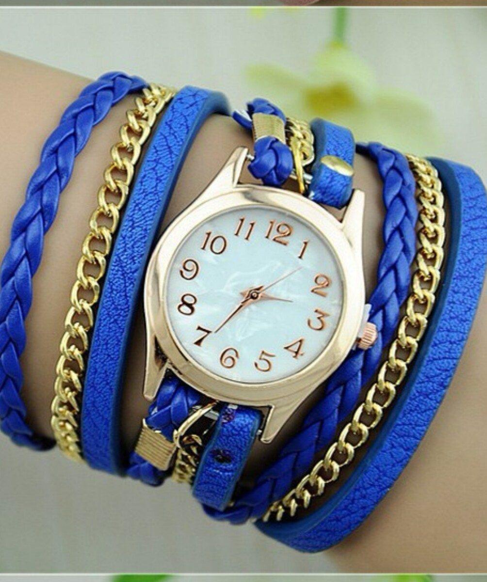 e19cee69836 relogio feminino lançamento relógio pulseira com strass top. Carregando zoom .