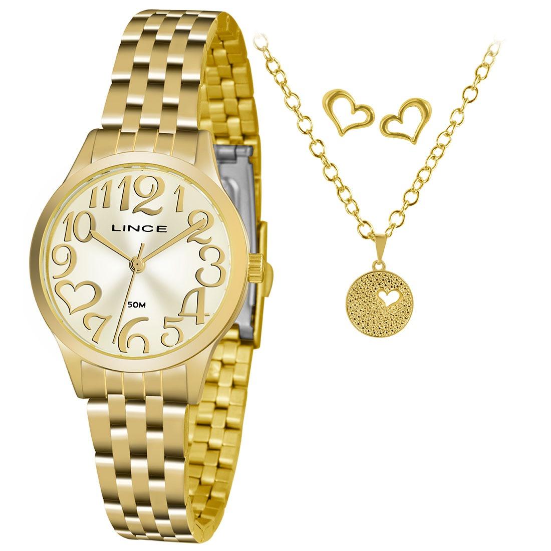 ba6623dbe82 kit relógio feminino analógico lince - lrgh071l ku37c2kx. Carregando zoom.