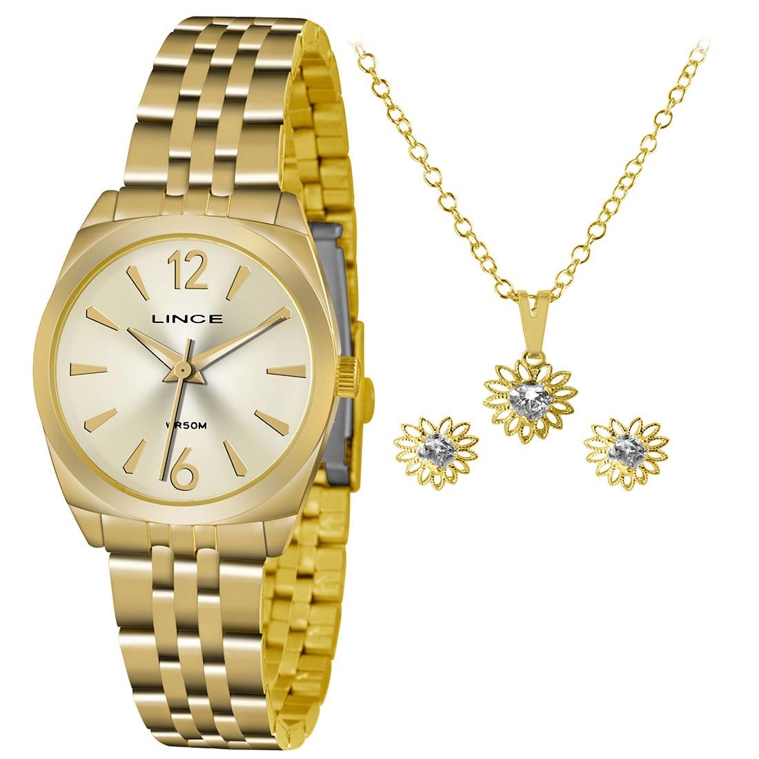276cdba01ca kit relógio feminino analógico lince - lrgh073l ku68c2kx. Carregando zoom.