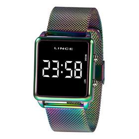 Relógio Feminino Lince Led Digital Furtacor Mdt4619l