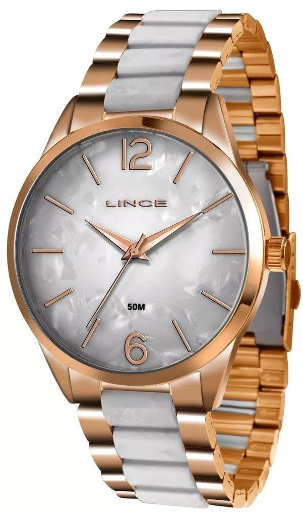 35b8e211564 relógio feminino lince lrt4444l b2rb analógico pérola rosé. Carregando zoom.