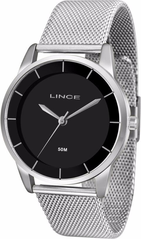 211988fe356 relógio feminino lince prata lrm4405l. Carregando zoom.