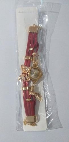 relógio feminino lindo quartzo pulseira cristal promoção