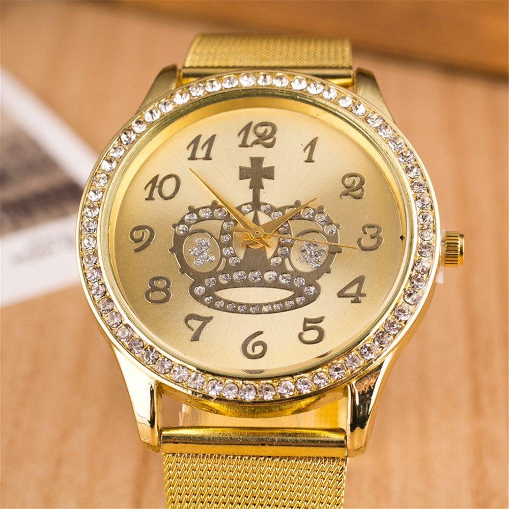 75ffb28c264 Relógio Feminino  Lindo Relógio Feminino Dourado - Barato - R  59