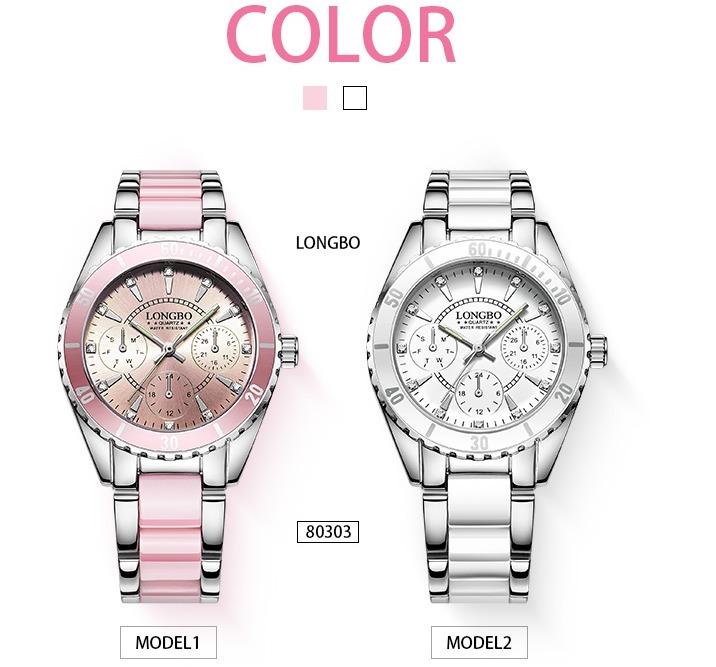 f7e56c5a1ac Relógio Feminino Longbo Luxo Barato Super Oferta - R  89