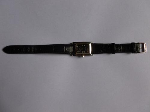 relógio feminino longines dolce vita pulseira couro