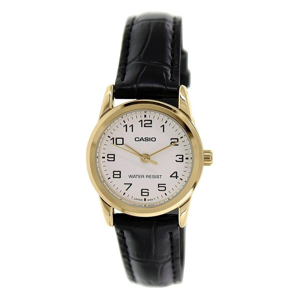 f7937f106c9 relógio feminino ltp-v001gl 7budf dourado analogico - casio. Carregando  zoom.