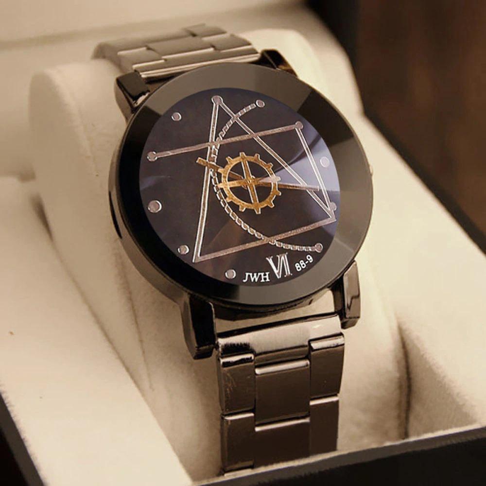 1ad3a386e1a relógio feminino luxo aço inoxidável quartzo barato. Carregando zoom.
